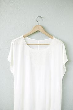 #relaxwithsussan Sussan Embroidered Tee