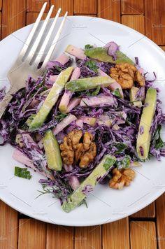 red coleslaw salad - Food & Drink