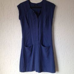 Vestido Azul Bic Lulii - 833173 | enjoei :p