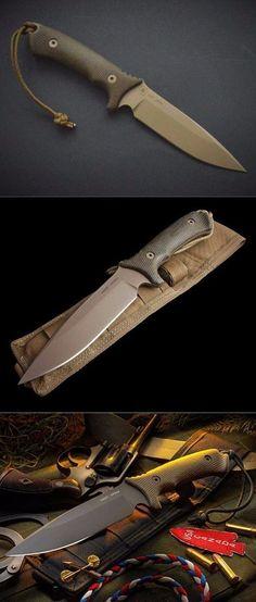 Spartan Blades Harsey Difensa Fixed Blade Fighting Knife @thistookmymoney