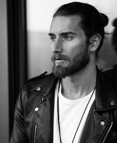 Beard tattoo hair black blonde