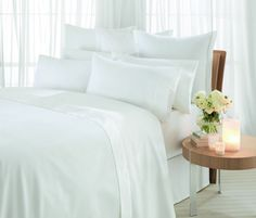 Flat Sheets - check various designs and colors on Pretty Home