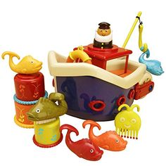 B. Fish and Splish Boat B. Toys https://www.amazon.com/dp/B002YITFB6/ref=cm_sw_r_pi_dp_XFUNxbGX898B4