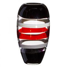 """Vase """"Ogiva"""" aus Murano Glas von Carlo Moretti - Modell: 7780.XXX"""