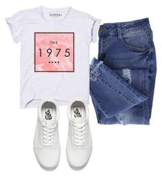 """Untitled #14"" by dgolenok on Polyvore featuring Essie and Vans"
