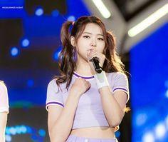 Cr: MIDSUMMER NIGHT #아이오아이 #ioi #임나영 #nayoung Ioi Nayoung, My Sunshine, Kpop, Hair Styles, Stone, Hair Plait Styles, Rock, Hair Looks, Haircut Styles