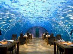 Underwater Restuarant @ Dubai