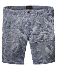 Jacquard Chino Shorts - Scotch