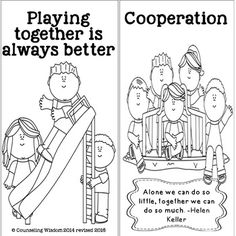 Cooperation and Teamwork Lessons for Character Education