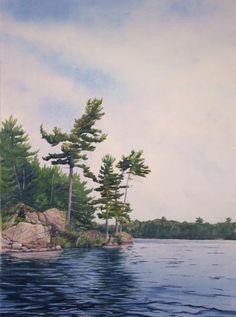Painting  - Canadian Shield Sculpture No. 2 Fine Art Print