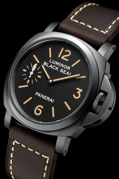 Luminor Panerai black seal