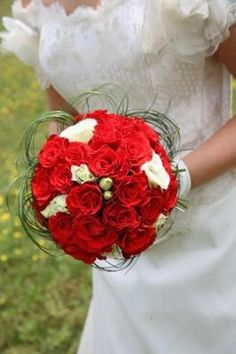 1000 images about bouquet de mariage on pinterest rouge bouquets and bridal bouquet red - Bouquet mariee rouge ...