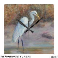 BIRD PARADISE Wall Clock