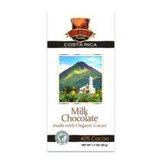 Gourmet Fields Costa Rican Organic Milk Chocolate Bar - 1.7 oz