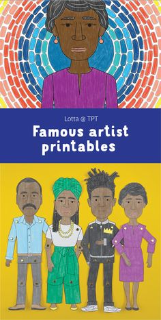 Famous African American Artists, Famous Black Artists, African American History Month, Famous African Americans, Black History Month, Art Lessons Online, Art History Lessons, Art Lessons For Kids, Artists For Kids