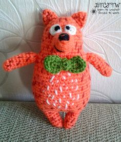 No Colour Changes Option | Foxy | Guest Post | Born to Crochet Forced to Work | @OombawkaDesign