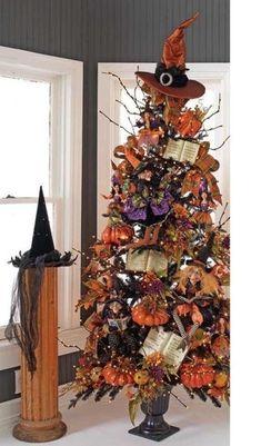 Halloween tree by georgina