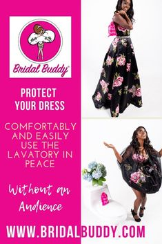 4afce426479 Bridal Buddy®. Brides want to protect their gowns ...