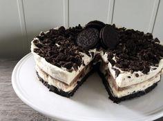 no - Finn noe godt å spise Pudding Desserts, Like Chocolate, No Bake Cake, Tiramisu, Oreo, Cake Recipes, Sweet Treats, Recipies, Goodies