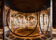 <p>After Anish Kapoor last year, it is now the turn of Danish-Icelandic visual artist Olafur Eliasson to take over the Château de Versailles until October 30th 2016. The work of the internationally ac