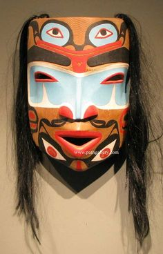 Weir, Dalbert Mask 'Haida Warrior with Frogs' - Native Art