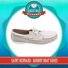 2015 Father's Day Gift Guide & #GreatDadGiveaway :: Quoddy Boat Shoes {Sponsored By Saint Bernard} | City Moms Blog Network