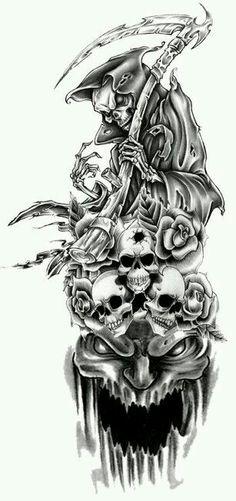 Reaper Tat by xXDarkReignXx on DeviantArt Tattoo 1
