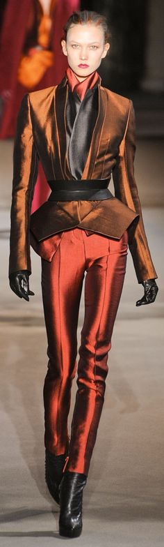 Haider Ackermann Fall 2012 ~ Paris