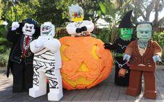 Brick or Treat adds even more Halloween fun for kids this year!  #BrickorTreat #LEGOLANDFlorida #Halloween