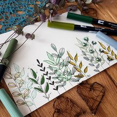 Watercolor Sketchbook, Watercolor Cards, Watercolour, Art Pictures, Art Images, Wildflower Drawing, Hand Doodles, Bible Doodling, Expressive Art