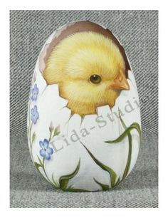 "Egg. 6cm. ""The Chick within the Egg"" by ""Lida-Studio"". in 