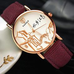 YAZOLE 363 Chinese Style Retro Luminous Hand Women Watch at Banggood Lingerie Accessories, Wearable Device, Watch Women, Chinese Style, St Kitts And Nevis, Quartz Watch, Watches For Men, Women Jewelry, Woman