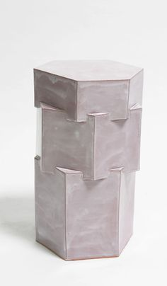 B Zippy Tall Triple Tier Ceramic Side Table – Spartan Shop Glazed Ceramic, Primitive, Indoor, Ceramics, This Or That Questions, Inspiration, Shop, Lead Time, Bari
