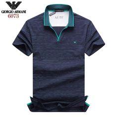 Armani polos t-shirts, short sleeve cotton tops, brand shop Men's Polos, Polo T Shirts, Boys Shirts, Camisa Polo, Polo T Shirt Design, Armani Polo, Moda Converse, Polo Fashion, Le Polo