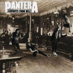 "L'album dei #Pantera intitolato ""Cowboys From Hell""."