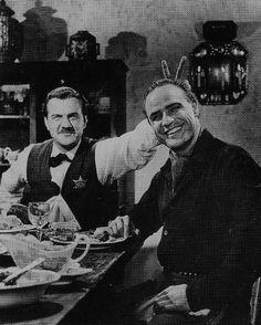 Karl Malden and Marlon Brando - One Eyed Jacks