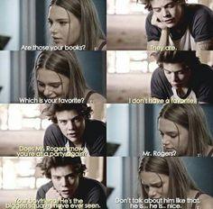 Harry describing Noah lol