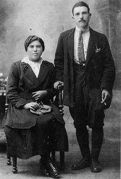 Foto da voda dos pais de Virxilio Vieitez | Virxilio's parents: The Wedding Photograph