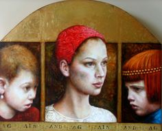 'Again and Again'...Artwork of Pam Hawkes. -Penny-