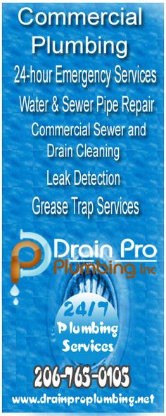 No other commercial plumbing and drain service company is trusted or recommended more than Drain Pro Plumbing Inc for scheduled or emergency service Pipe Repair, Commercial Plumbing, Cleaning, Home Cleaning