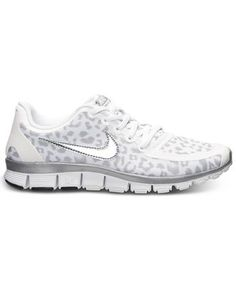 first rate 897a3 d2a6f Nike Womens Free 5.0 V4 Running Sneakers from Finish Line - Sneakers -  Shoes - Macys nike free 5.0 leopard ...