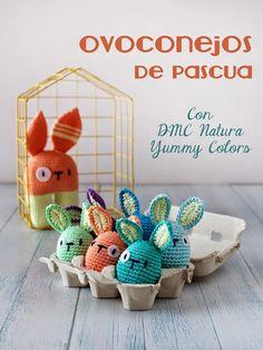 El blog de Dmc: Ovoconejos de pascua Yummy de Lanukas