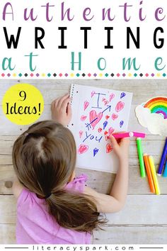Authentic Writing at Home