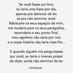 Allê Barbosa citações