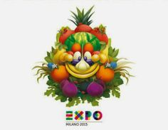 The official mascot of Expo 2015 was sketched by Disney Italia and represents a face made of 11 types of food joined together Transparent Business Cards, Plastic Business Cards, Expo Milano 2015, Expo 2015, Disney Italia, Giuseppe Arcimboldo, Happy Guy, Collage, World's Fair
