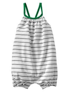 Contrast stripe one-piece Product Image