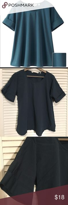 Uniqlo and Lemaire Top Beautiful and good condition, little wear top. Perfect for work. Fits true to size, the arms are a bit small. Uniqlo Tops Blouses