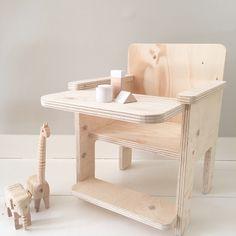Kinderstoeltje underlayment Houten kinderstoel  Designed by Huis & Grietje
