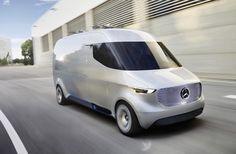 "Mercedes-Benz recently unveiled their all-electric ""Vision Van"" concept, combining a number of innovative solutions for delivery in urban and suburban environments. ""It is the first van worldwide to fully digitally connect all people and processes involved, from the distribution centre to the collector. Furthermore, it is the first van ever to feature a fully automated cargo space and integrated delivery drones. For example, if a parcel service provider stops his vehicle in a residential…"