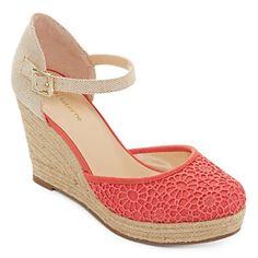 jcpenney.com | Liz Claiborne® Mabel Espadrille Wedge Sandals